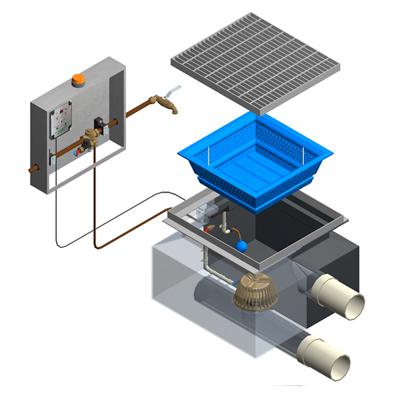 First Flush System Model FF 600
