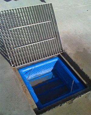 Silt Trap Installation