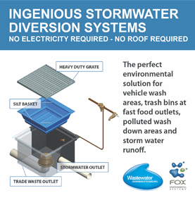 Stormwater diversion systems